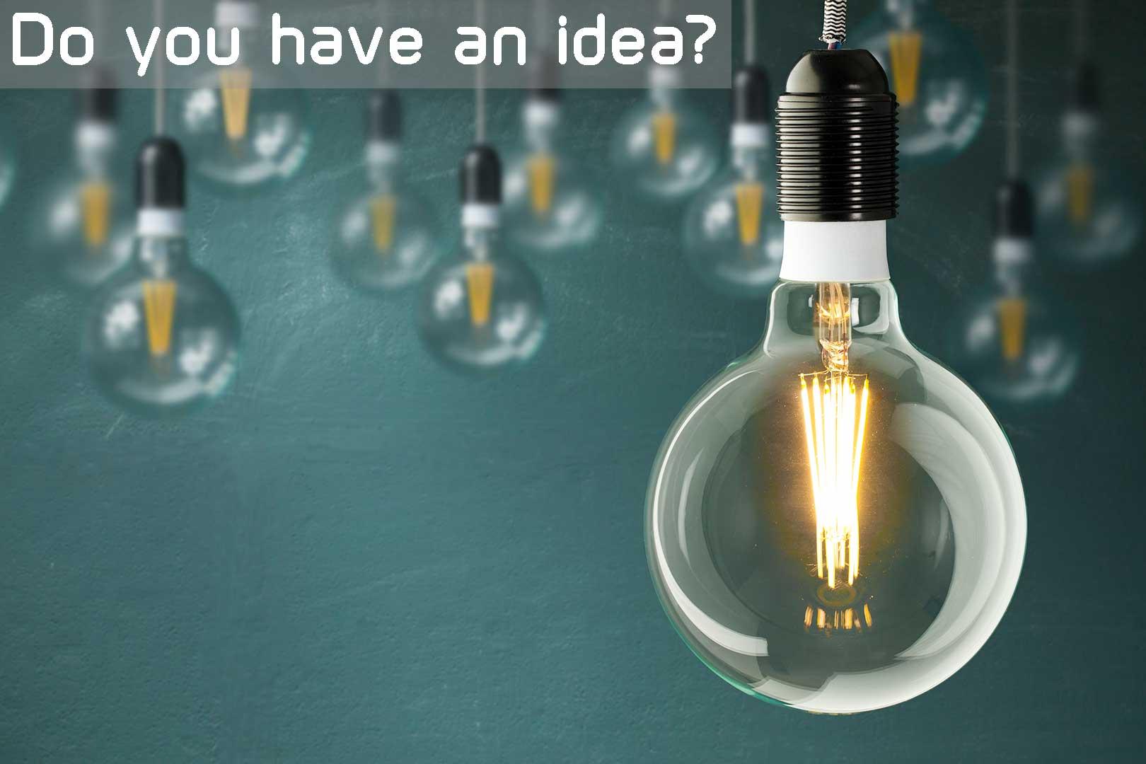 Have an idea?